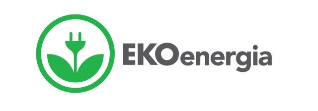 Kuvassa on EKOenergian logo
