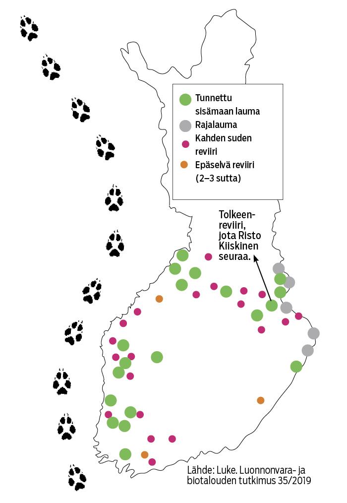 Suden Jaljilla Suomen Luonnonsuojeluliitto