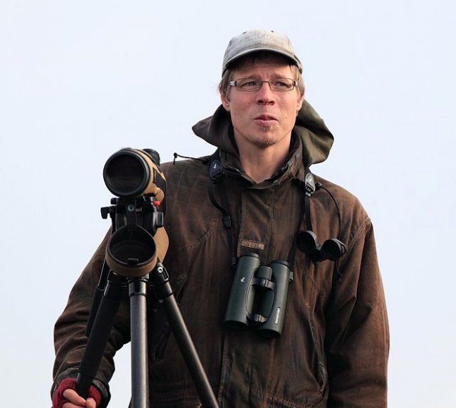 Birdlifen suojeluasiantuntija Tero Toivanen