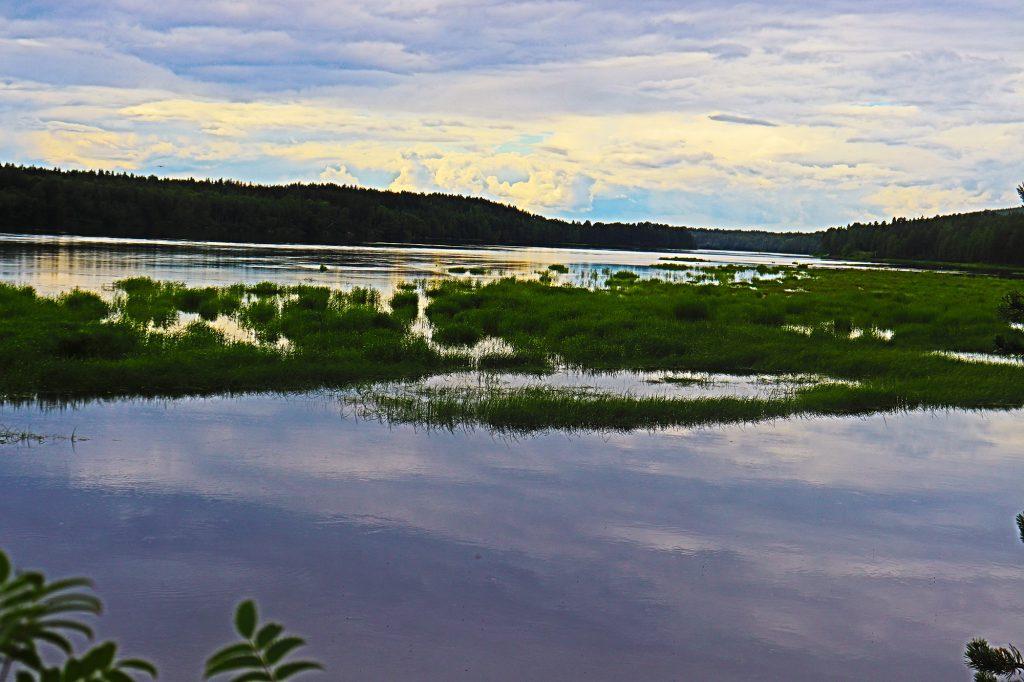 Tulvasaaret Kemijoella. Kuva: Päivi Lundvall