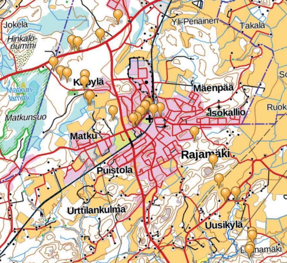 Nurmijärven Kartta