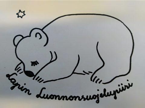 Lapin luonnonsuojelupiirin vanha logo