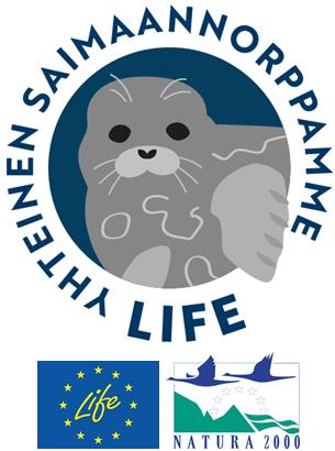 Yhteinen saimaannorppamme LIFE logo